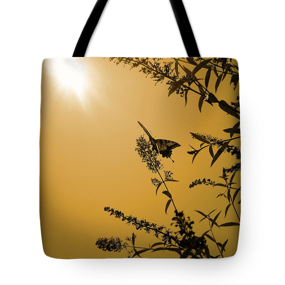 2010 Tote Bag featuring the photograph Summer Silhouette by Julia Raddatz