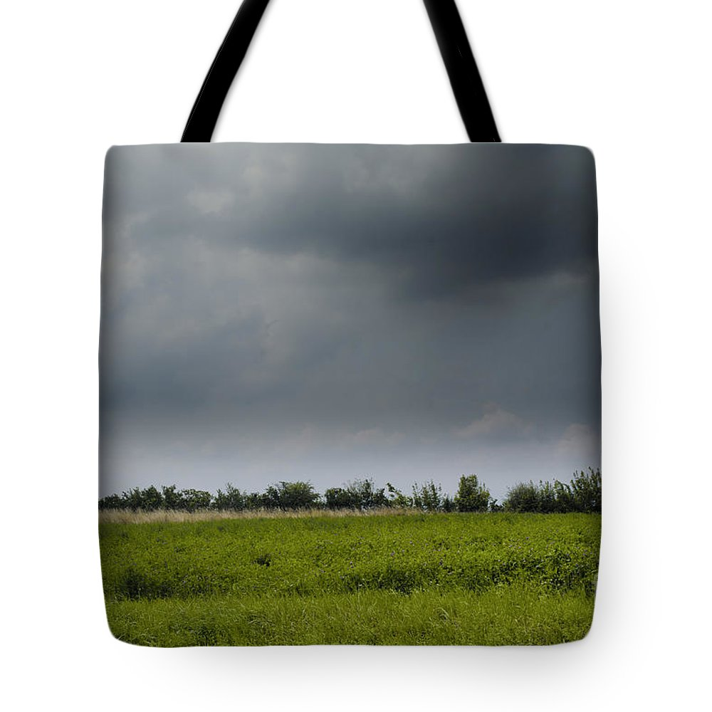 Michelle Meenawong Tote Bag featuring the photograph Summer Storm by Michelle Meenawong