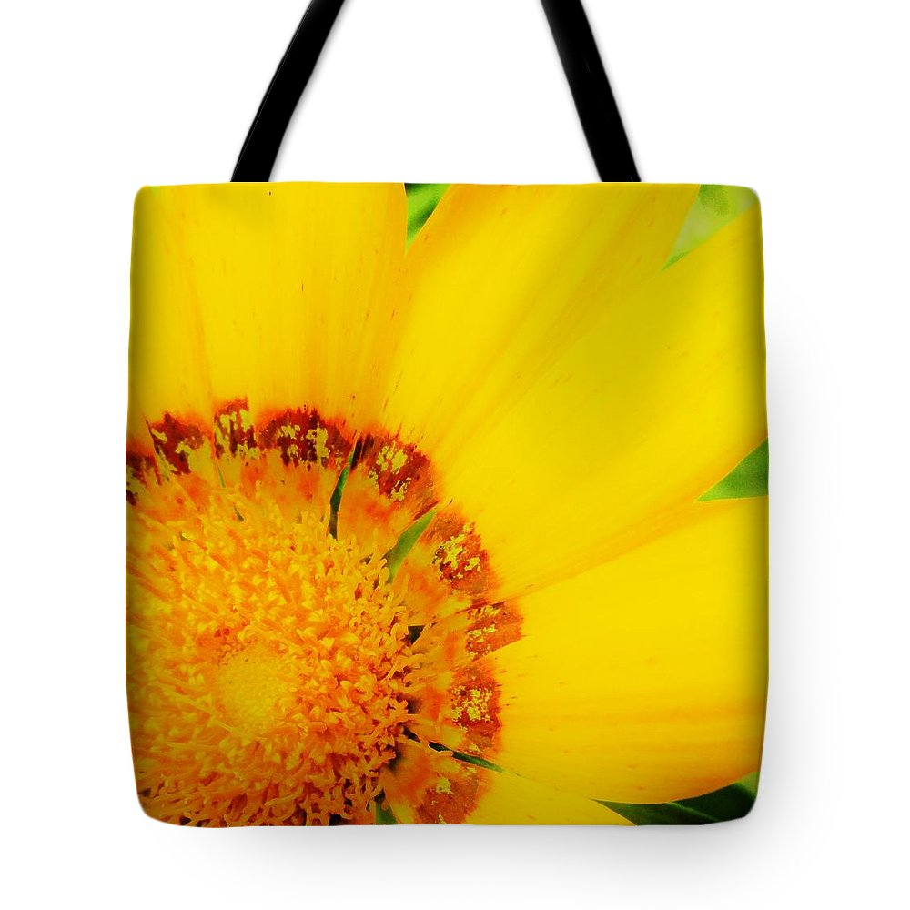 Flower Tote Bag featuring the photograph Summer Sunshine by Sharon Ackley