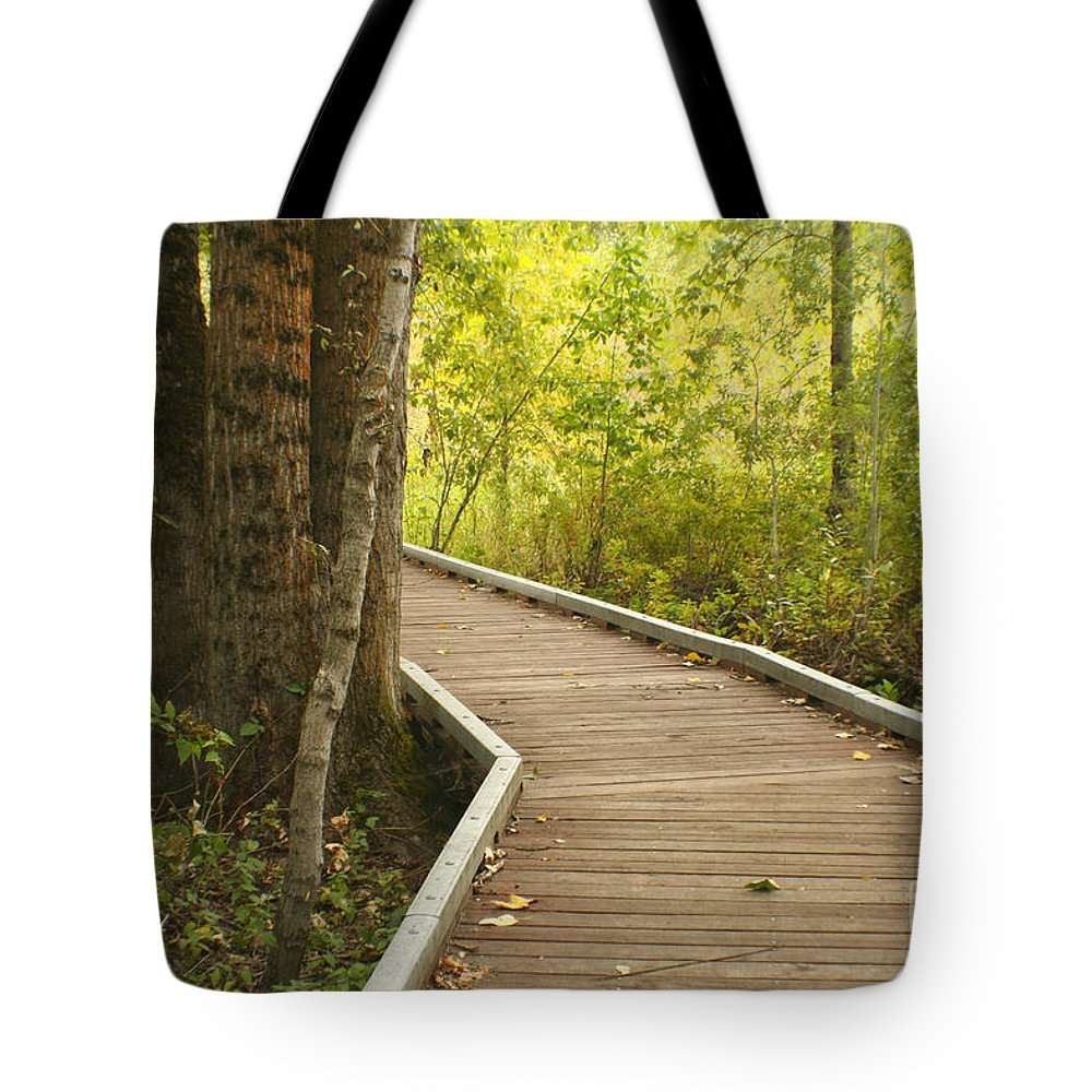 Trail Tote Bag featuring the photograph Summer Walk by Idaho Scenic Images Linda Lantzy