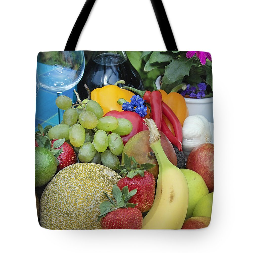 Fruit Tote Bag featuring the photograph Summer Wine by Robert Lacy