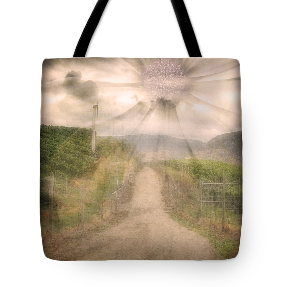 Flower Tote Bag featuring the photograph Summer's Last Light by Tara Turner