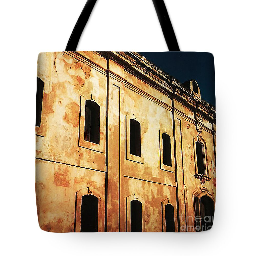 Buildings Tote Bag featuring the photograph Sun Kissed by Jeff Barrett