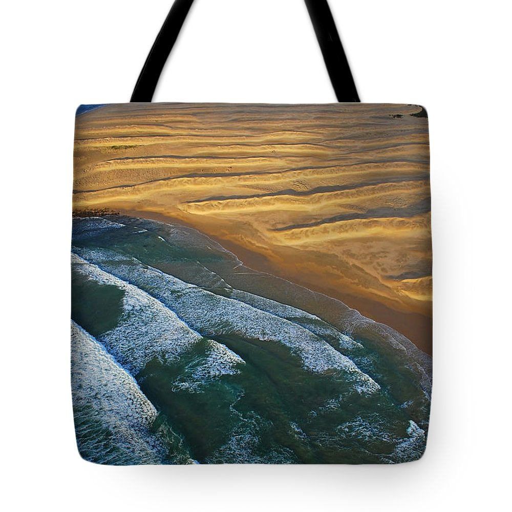 Coast Tote Bag featuring the photograph Sun Rise Coast by Skip Hunt