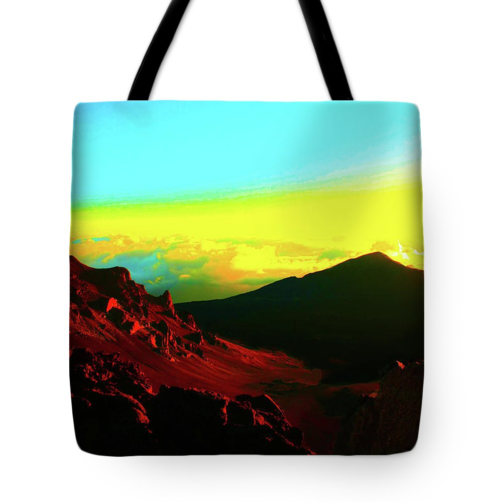 Sun Tote Bag featuring the photograph Sun Valley by Stephen Edwards