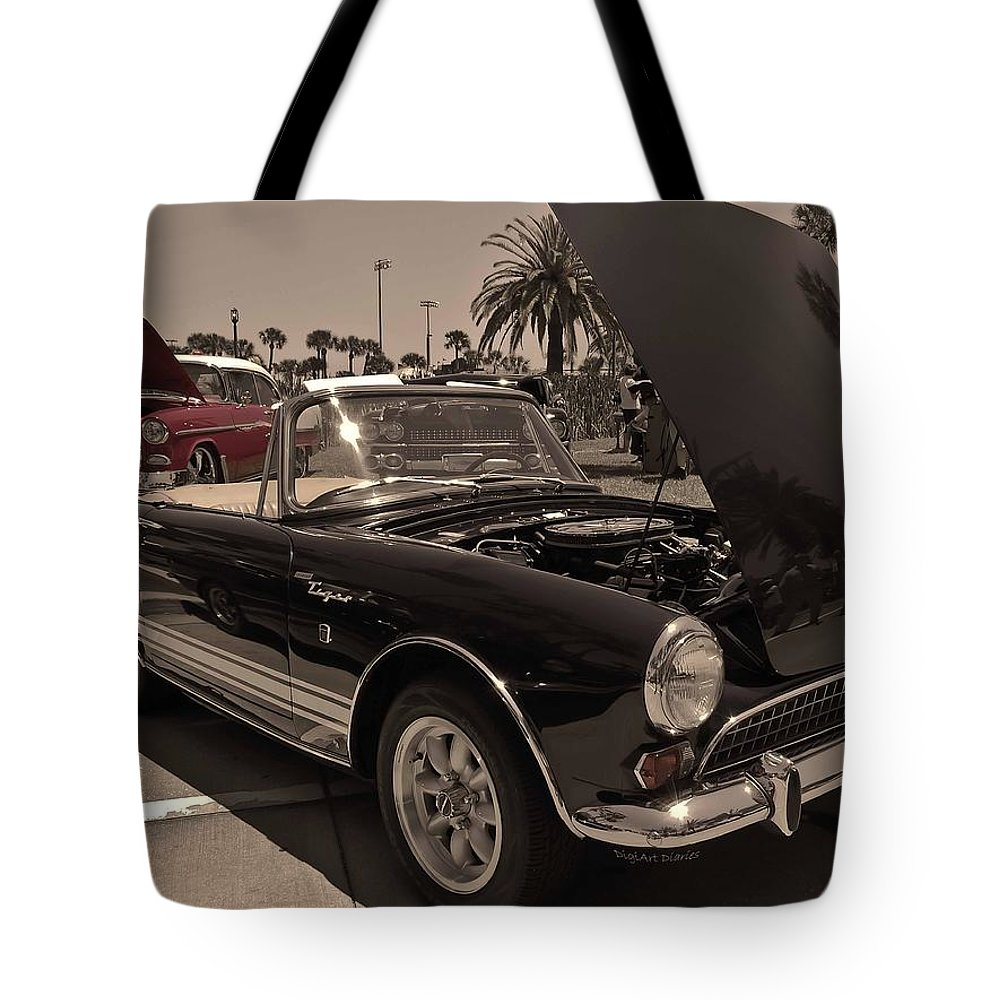 Sunbeam Tote Bag featuring the photograph Sunbeams On A Sunbeam by DigiArt Diaries by Vicky B Fuller