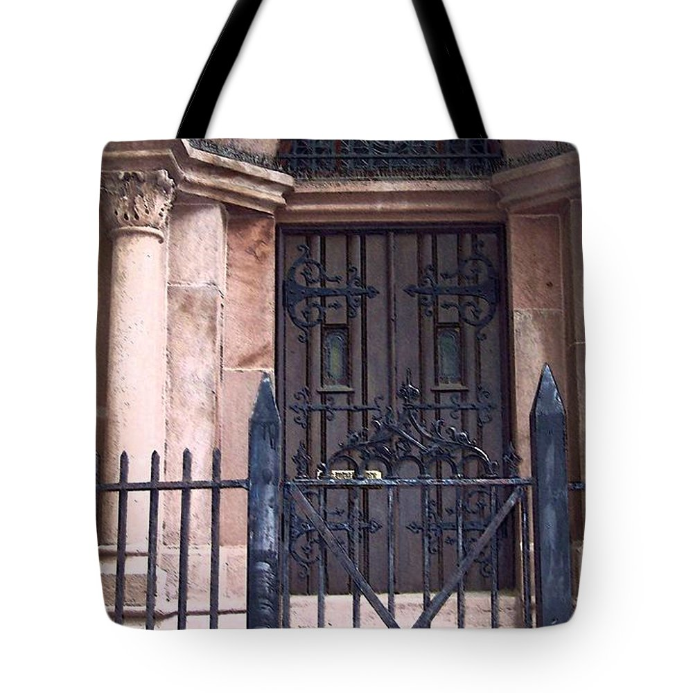 Church Tote Bag featuring the photograph Sunday by Debbi Granruth