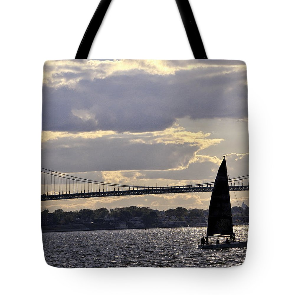 Seascape Tote Bag featuring the photograph Sundown At Kings Point, Ny - Usa by Gerlinde Keating - Galleria GK Keating Associates Inc