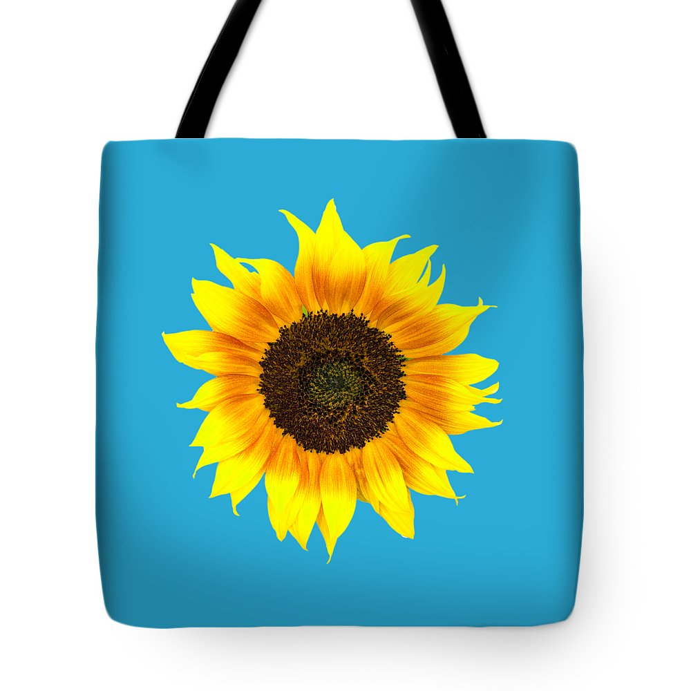 Sunflower Tote Bag featuring the photograph Sunflower by Judith Flacke