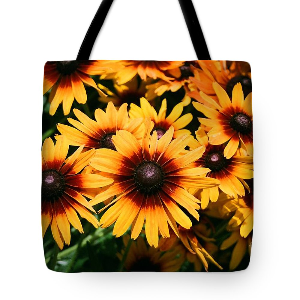 Sunflowers Tote Bag featuring the photograph Sunflowers by Dean Triolo