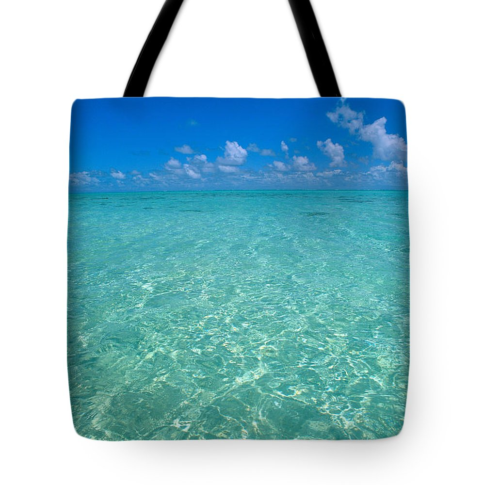 Amaze Tote Bag featuring the photograph Sunlight Reflections by Greg Vaughn - Printscapes
