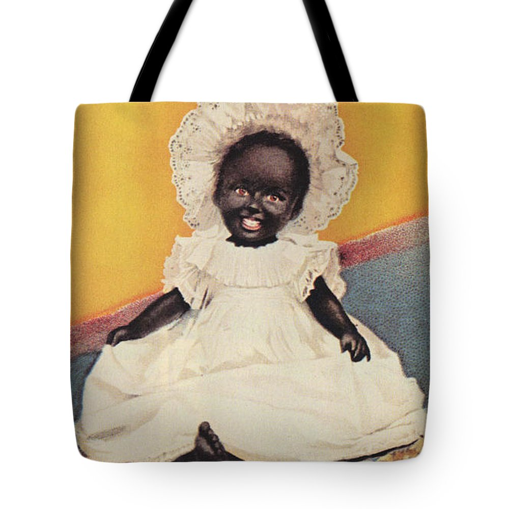 Black Americana Tote Bag featuring the digital art Sunlight Soap So Clean And White by ReInVintaged