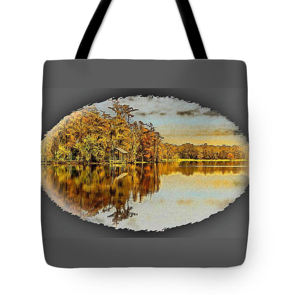 Center Tote Bag featuring the photograph Sunny 2 by Leticia Latocki