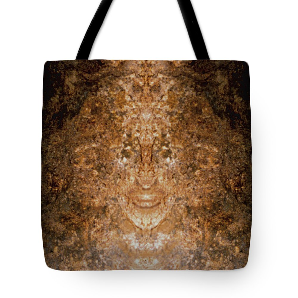 Rocks Tote Bag featuring the photograph Sunqueen Of Woodstock by Nancy Griswold
