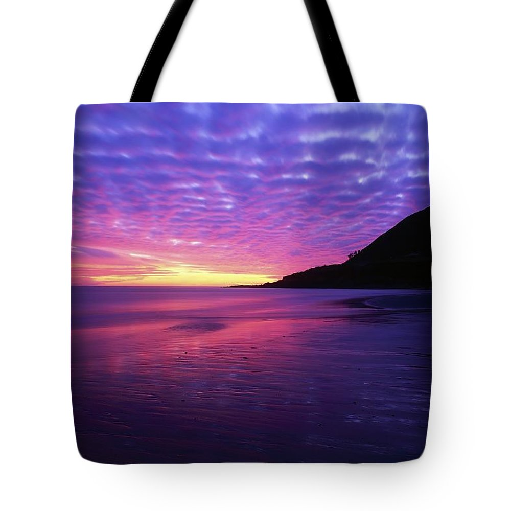 Bray Head Tote Bag featuring the photograph Sunrise At Bray Head, Co Wicklow by The Irish Image Collection