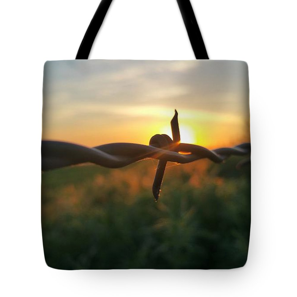 Sunrise Tote Bag featuring the photograph Sunrise In June by Joe Diaz