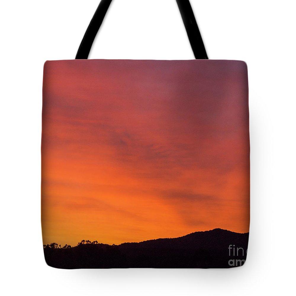 Natanson Tote Bag featuring the photograph Sunrise Overcast by Steven Natanson