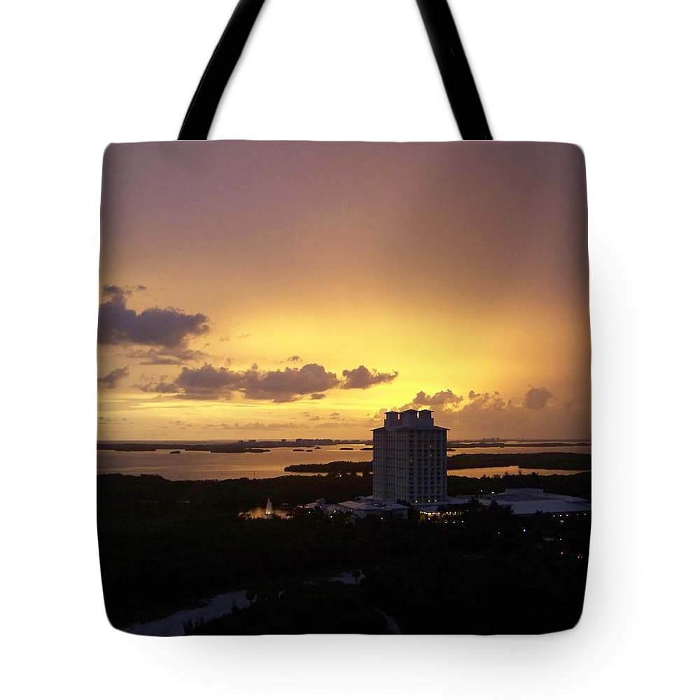 Sunset Tote Bag featuring the photograph Sunset 0003 by Laurie Paci