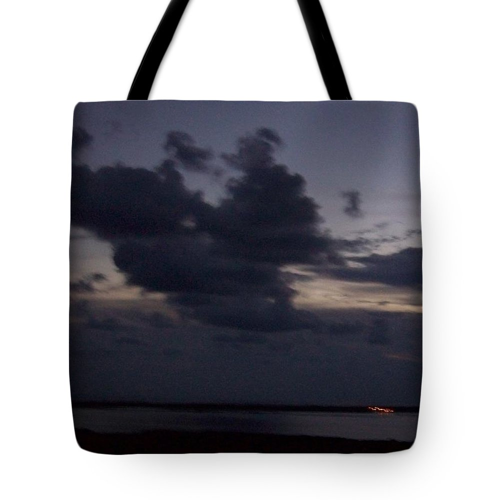 Sunset Over Estero Tote Bag featuring the photograph Sunset 0005 by Laurie Paci