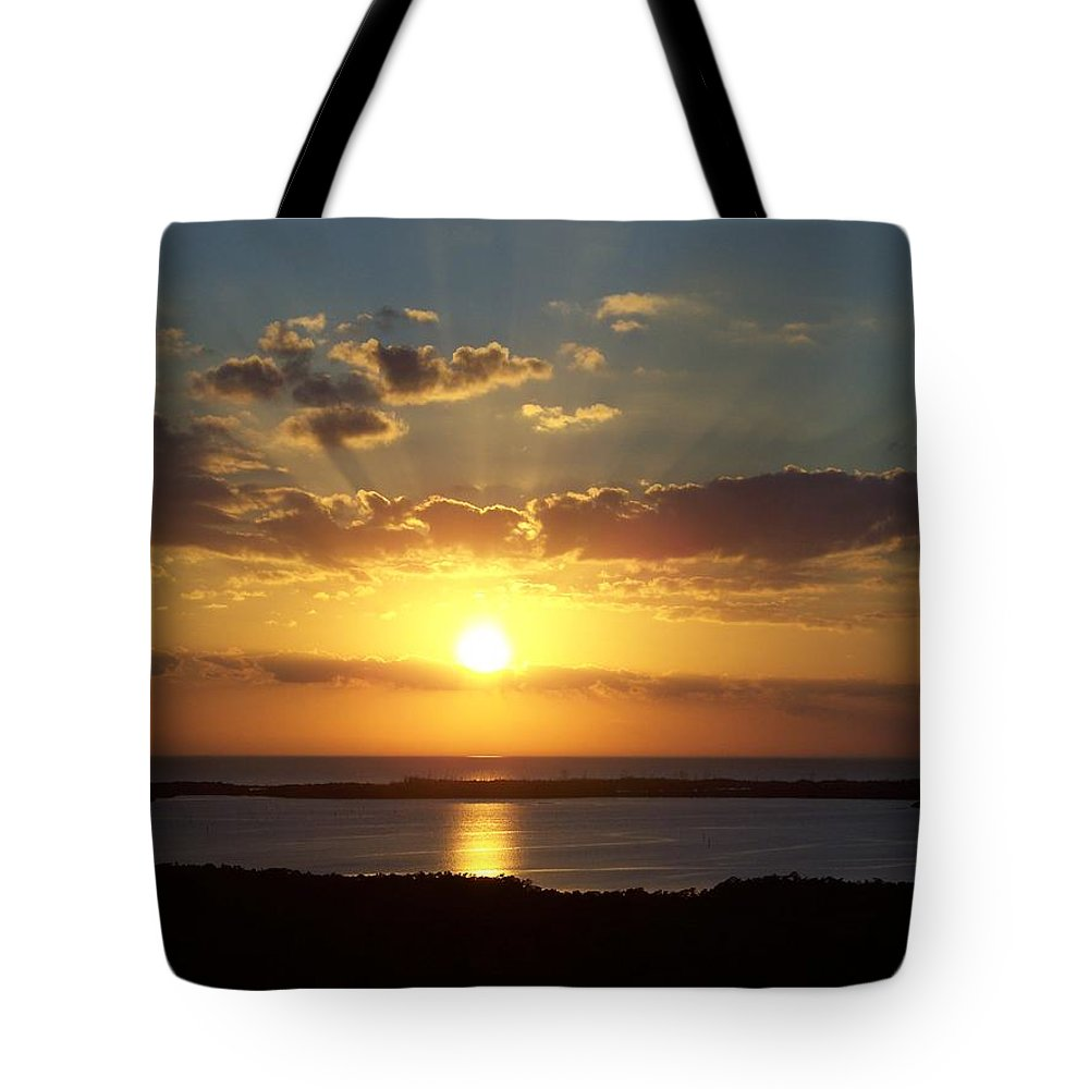 Sunset Tote Bag featuring the photograph Sunset 0012 by Laurie Paci