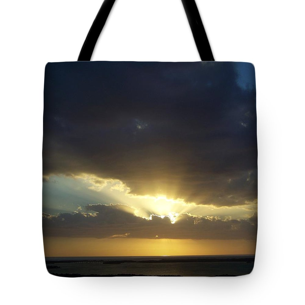 Sunset Tote Bag featuring the photograph Sunset 0023 by Laurie Paci