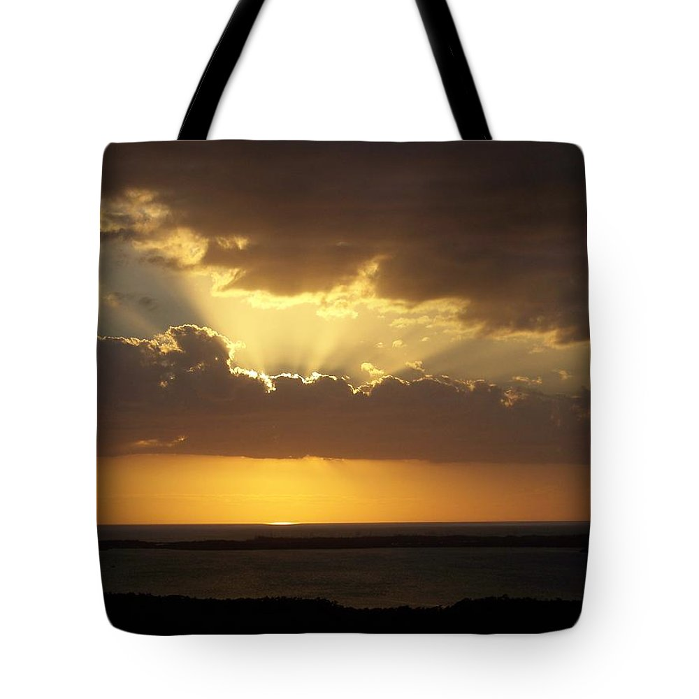 Sunset Tote Bag featuring the photograph Sunset 0024 by Laurie Paci