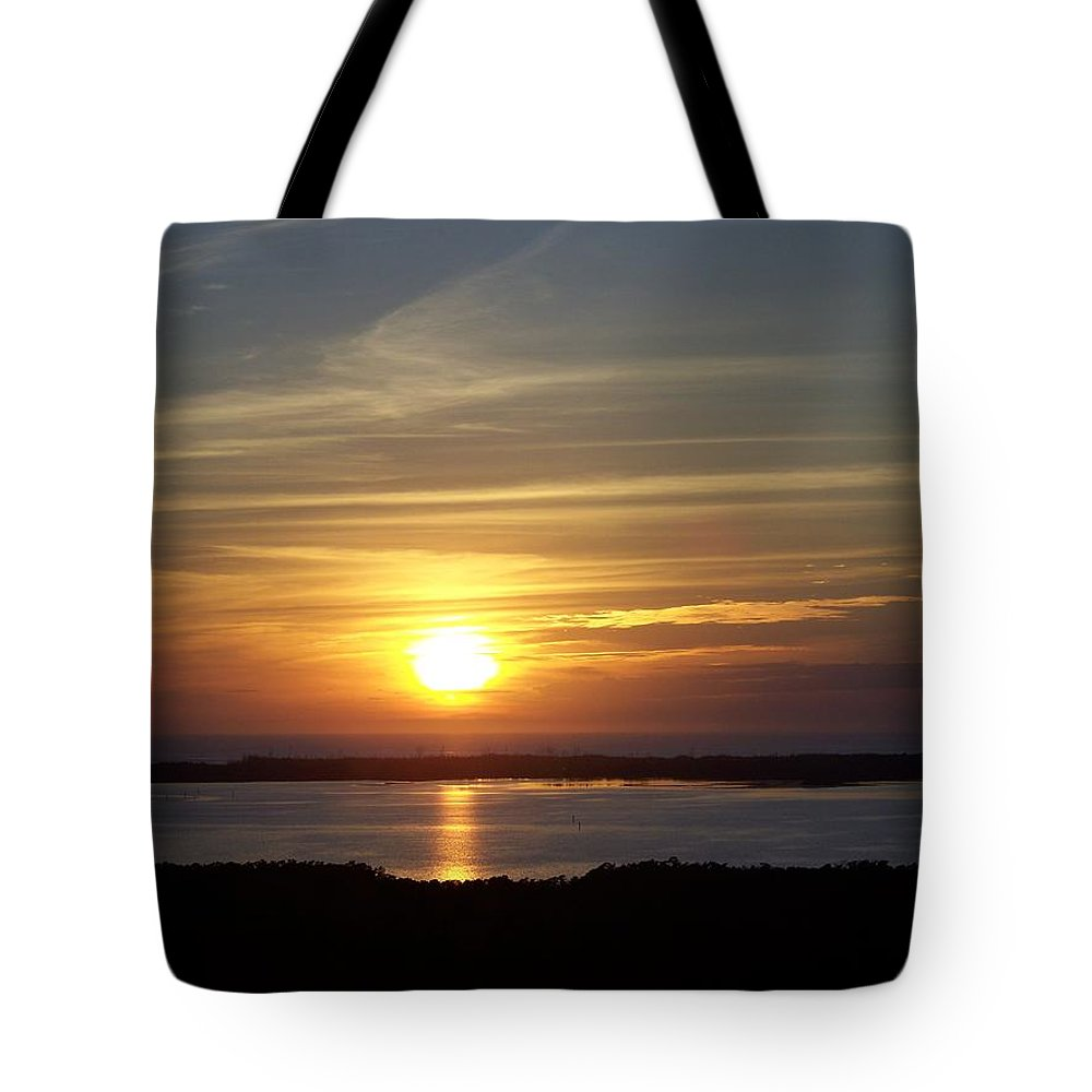 Sunset Tote Bag featuring the photograph Sunset 0035 by Laurie Paci