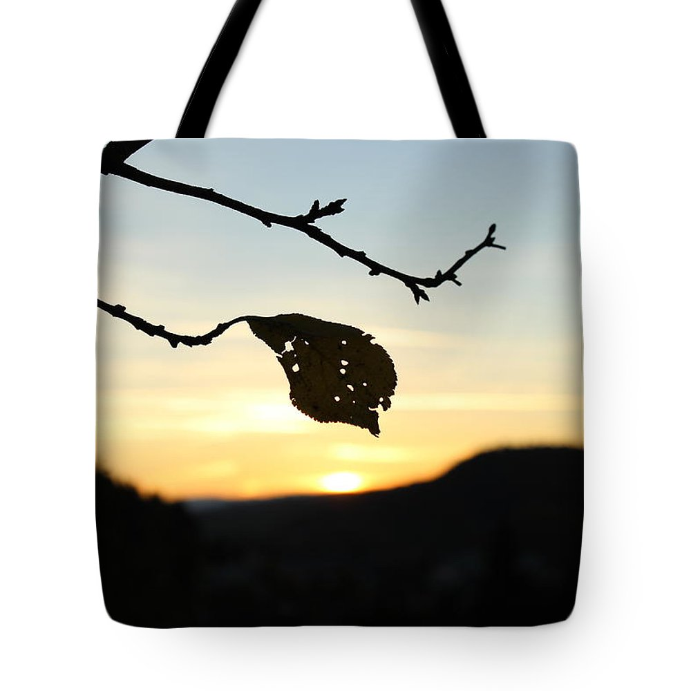 Sunset Tote Bag featuring the photograph Sunset by Alena Madosova