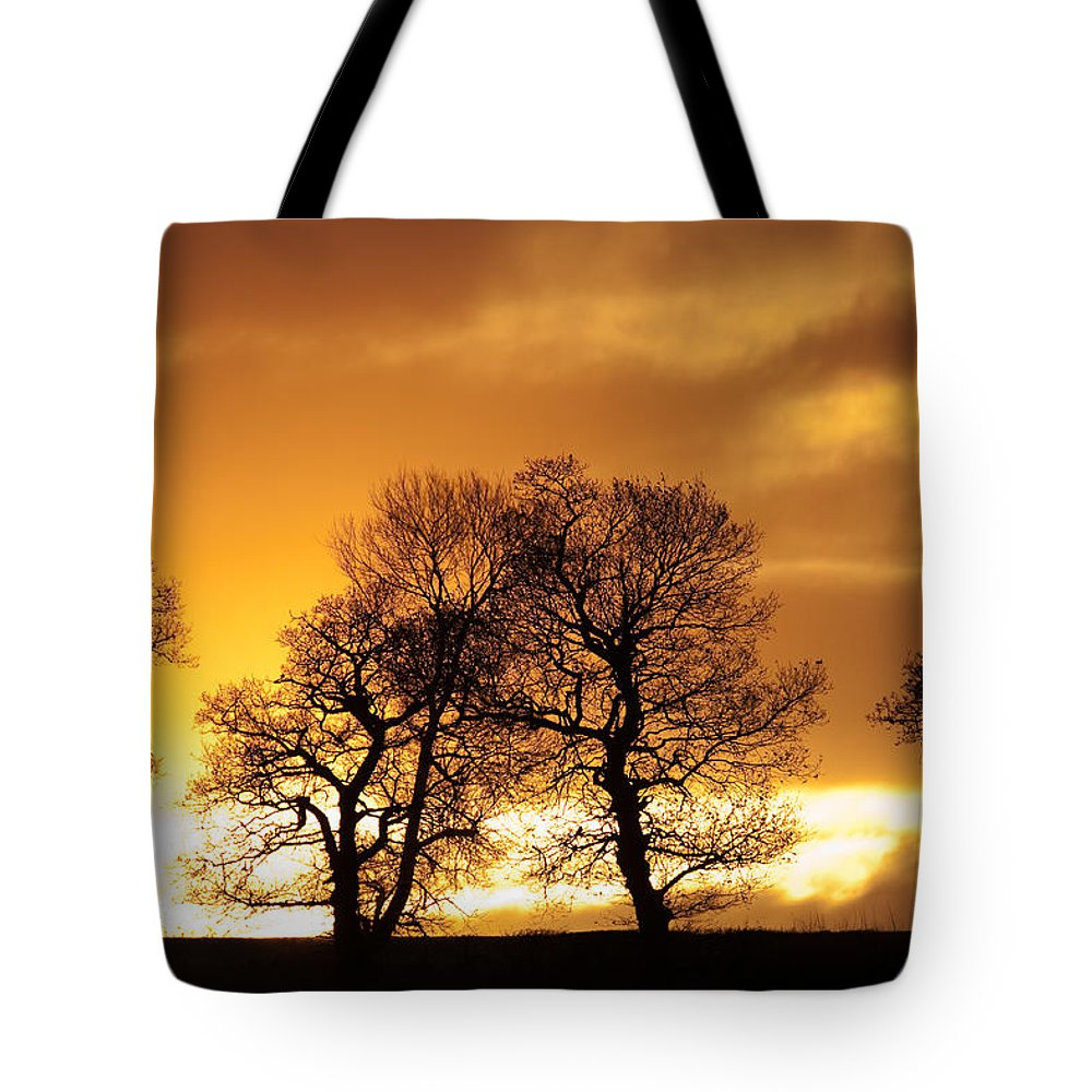Sunset Tote Bag featuring the photograph Sunset At Redhill by Bob Kemp