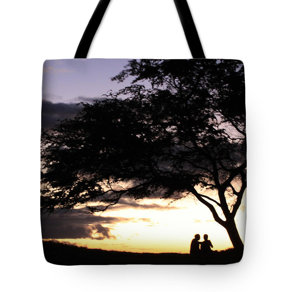 Sunset Tote Bag featuring the photograph Sunset Date Night by Aquadro Photography