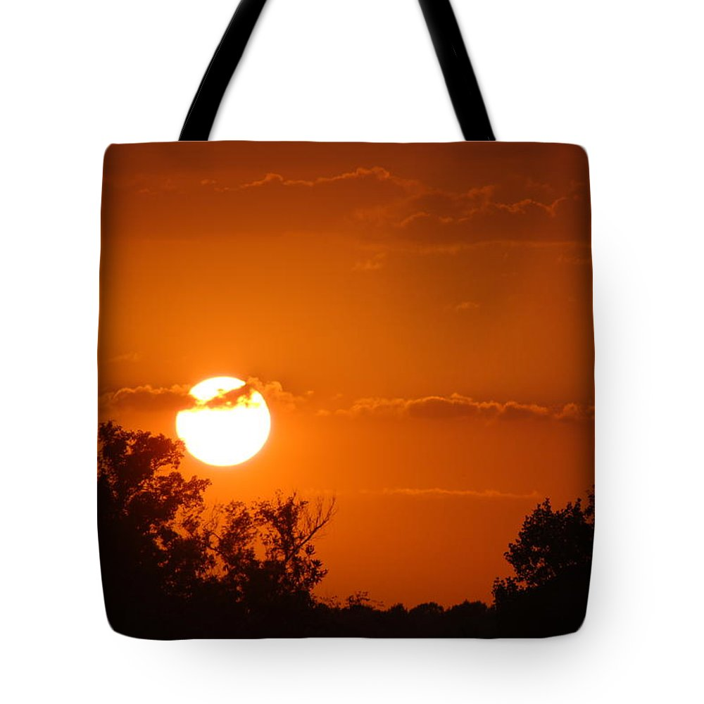 Sunset Tote Bag featuring the photograph Sunset In Charleston by Donna Bentley