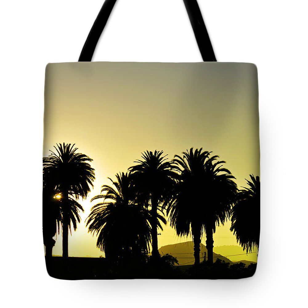 Clay Tote Bag featuring the photograph Sunset In Socal by Clayton Bruster