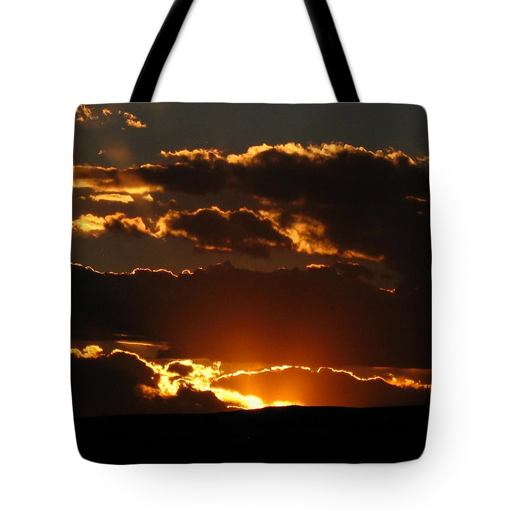 Sunset Tote Bag featuring the photograph Sunset M 106 by Sierra Dall