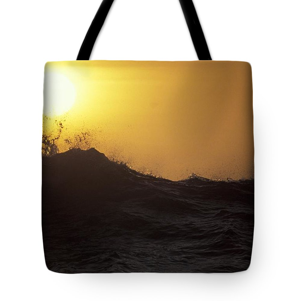 Sunset Tote Bag featuring the photograph Sunset by Michael Mogensen