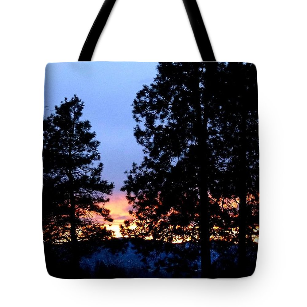 Sunset Strip Tote Bag featuring the digital art Sunset Strip by Will Borden