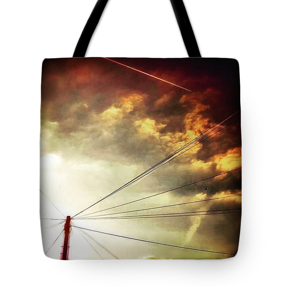 Beautiful Tote Bag featuring the photograph #sunset #sun #tagsforlikes.com #tflers by Jason Michael Roust