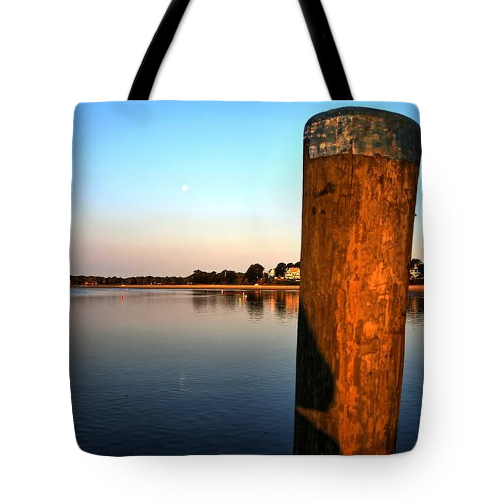 Cape Cod Tote Bag featuring the photograph Sunshine On Onset Bay by Bruce Gannon