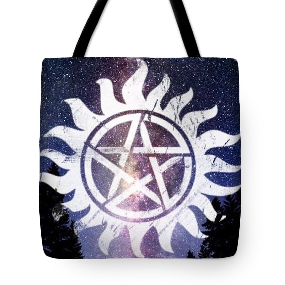 Supernatural Anti Possession Symbol Tote Bag For Sale By Lexi Rowland