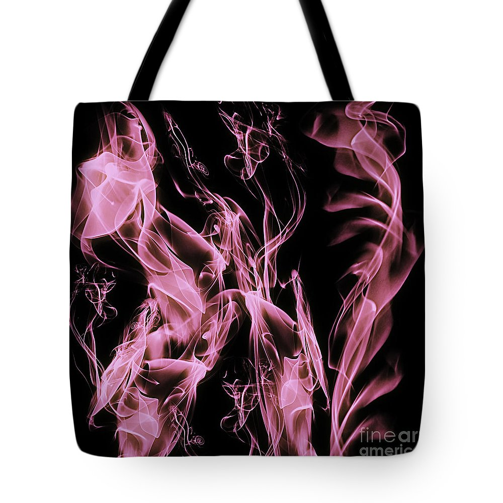 Clay Tote Bag featuring the digital art Support The Cure by Clayton Bruster