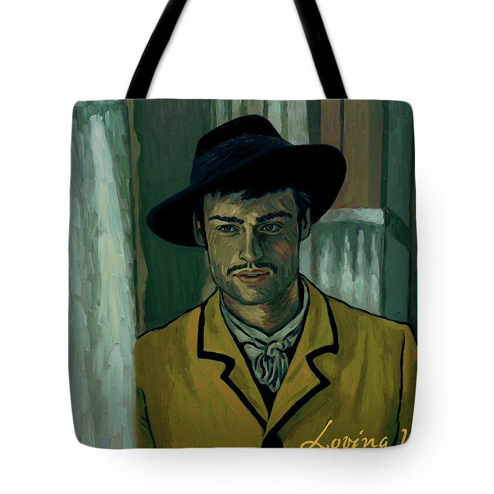 Tote Bag featuring the painting Sure by Elizabeth Hristova - Lisa