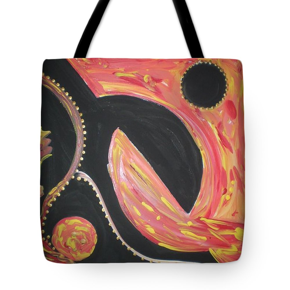 Guitar Tote Bag featuring the painting Surrender by Kelly Turner