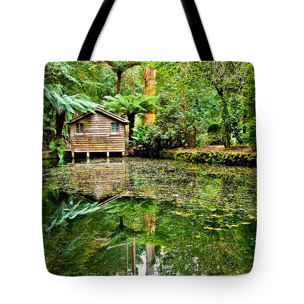 Dandenong Forest Tote Bag featuring the photograph Surrounded By Nature by Az Jackson
