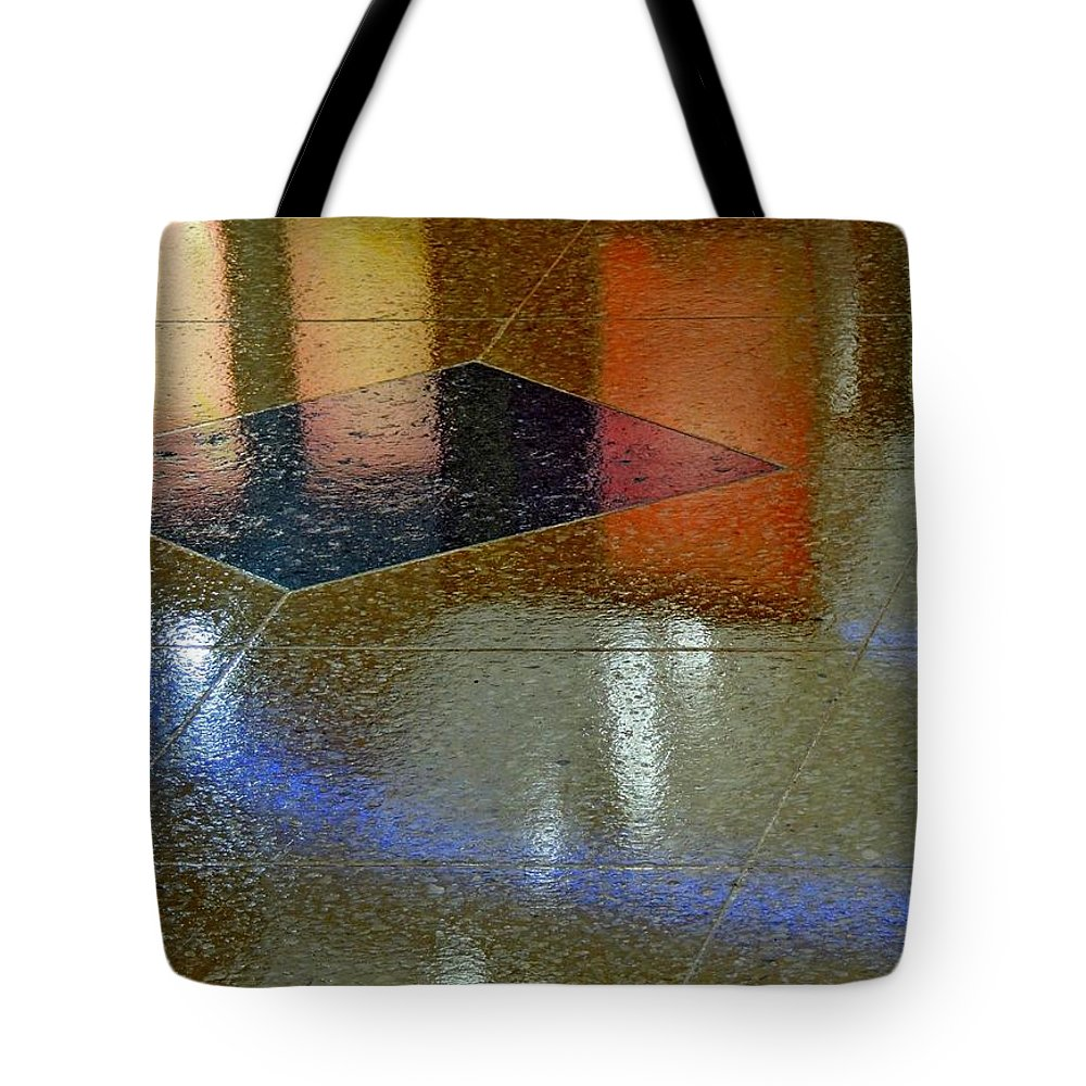 Abstract Tote Bag featuring the photograph Suspended by Denise Clark
