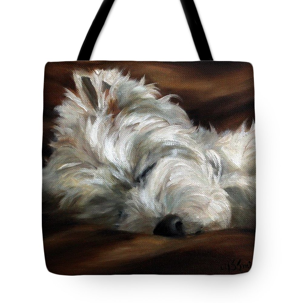 Art Tote Bag featuring the painting Sweet Dreams by Mary Sparrow