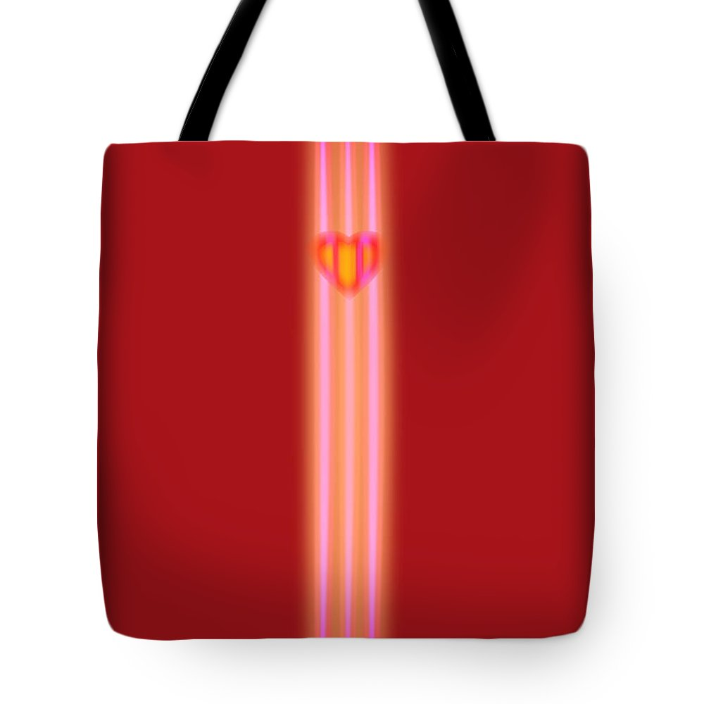 Slit Tote Bag featuring the painting Sweet Heart by Charles Stuart