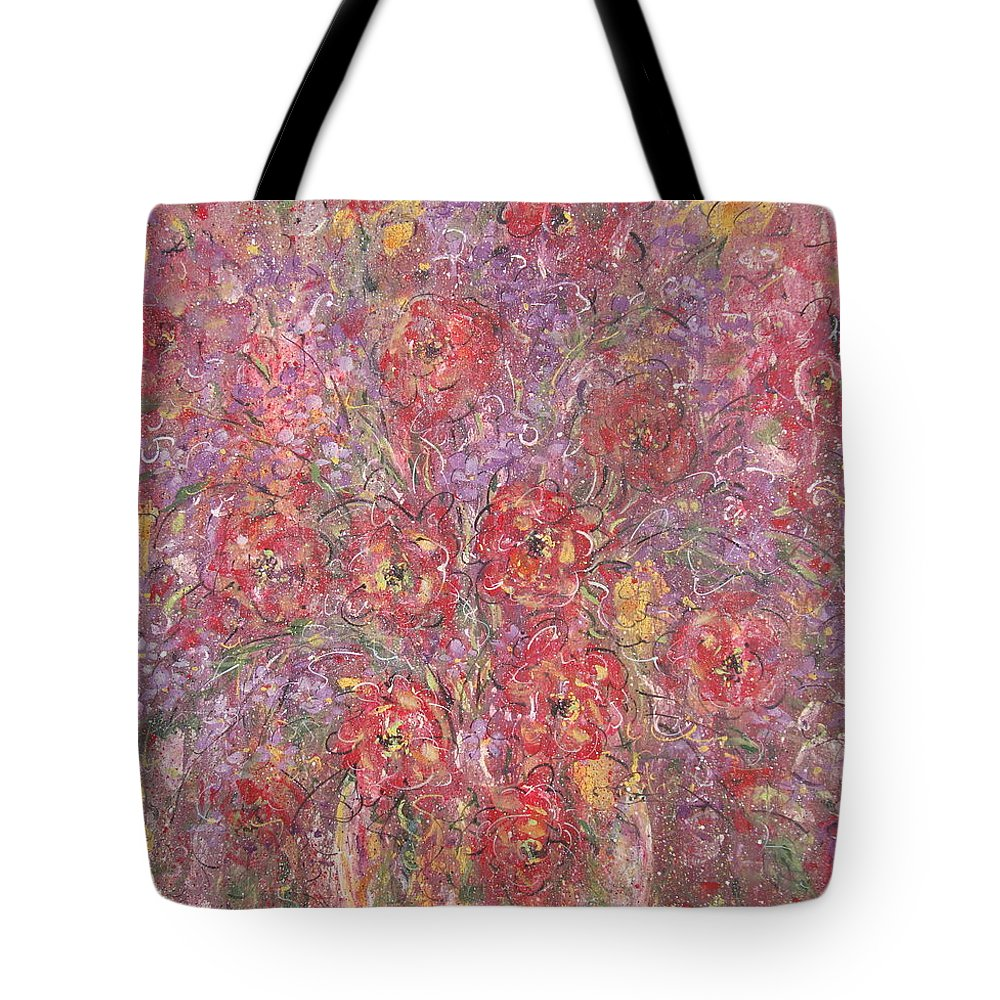 Still Life Tote Bag featuring the painting Sweet Memories by Natalie Holland