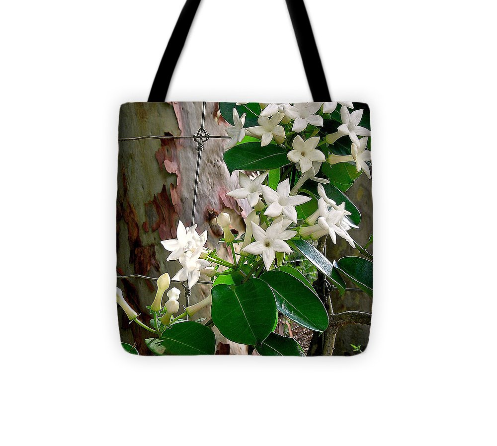 Stephanotis Tote Bag featuring the photograph Sweet Stephanotis by James Temple