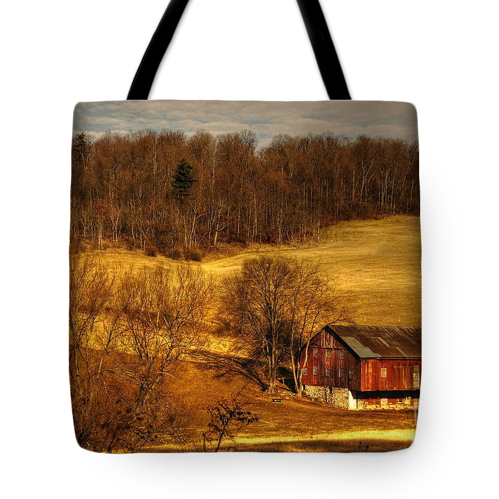 Barn Tote Bag featuring the photograph Sweet Sweet Surrender by Lois Bryan