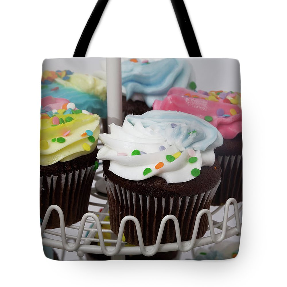 Chocolate Tote Bag featuring the photograph Sweet Treats by Diane Macdonald