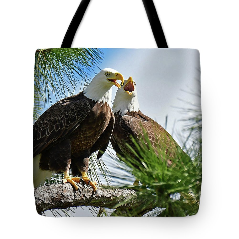 Tote Bag featuring the photograph Sweet Vocals by Liz Grindstaff